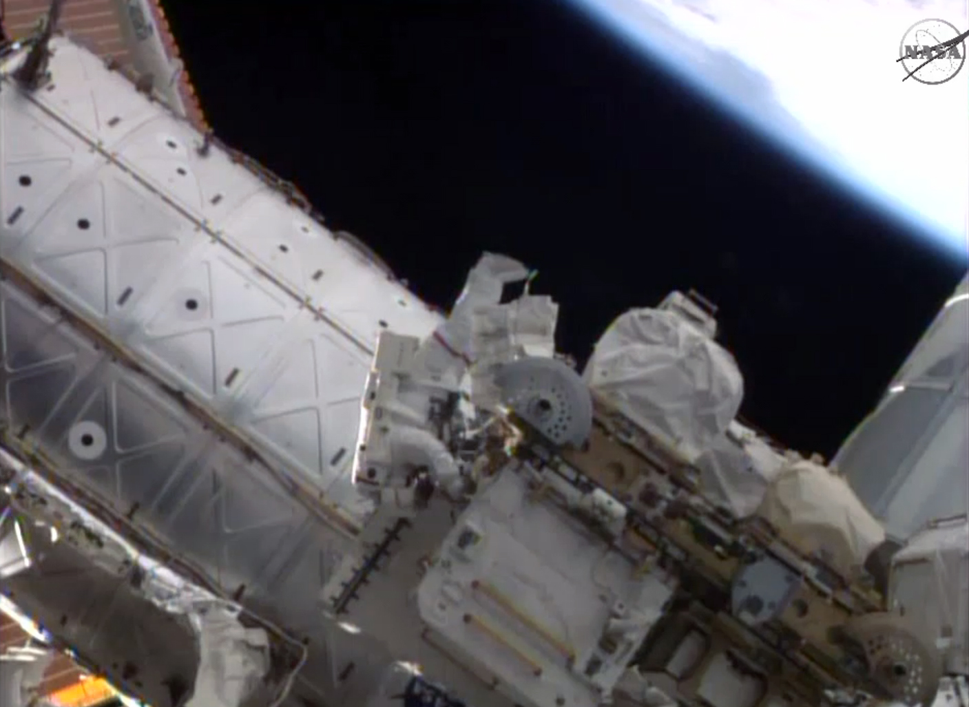 astronauts resume routine spacewalks for nasa science