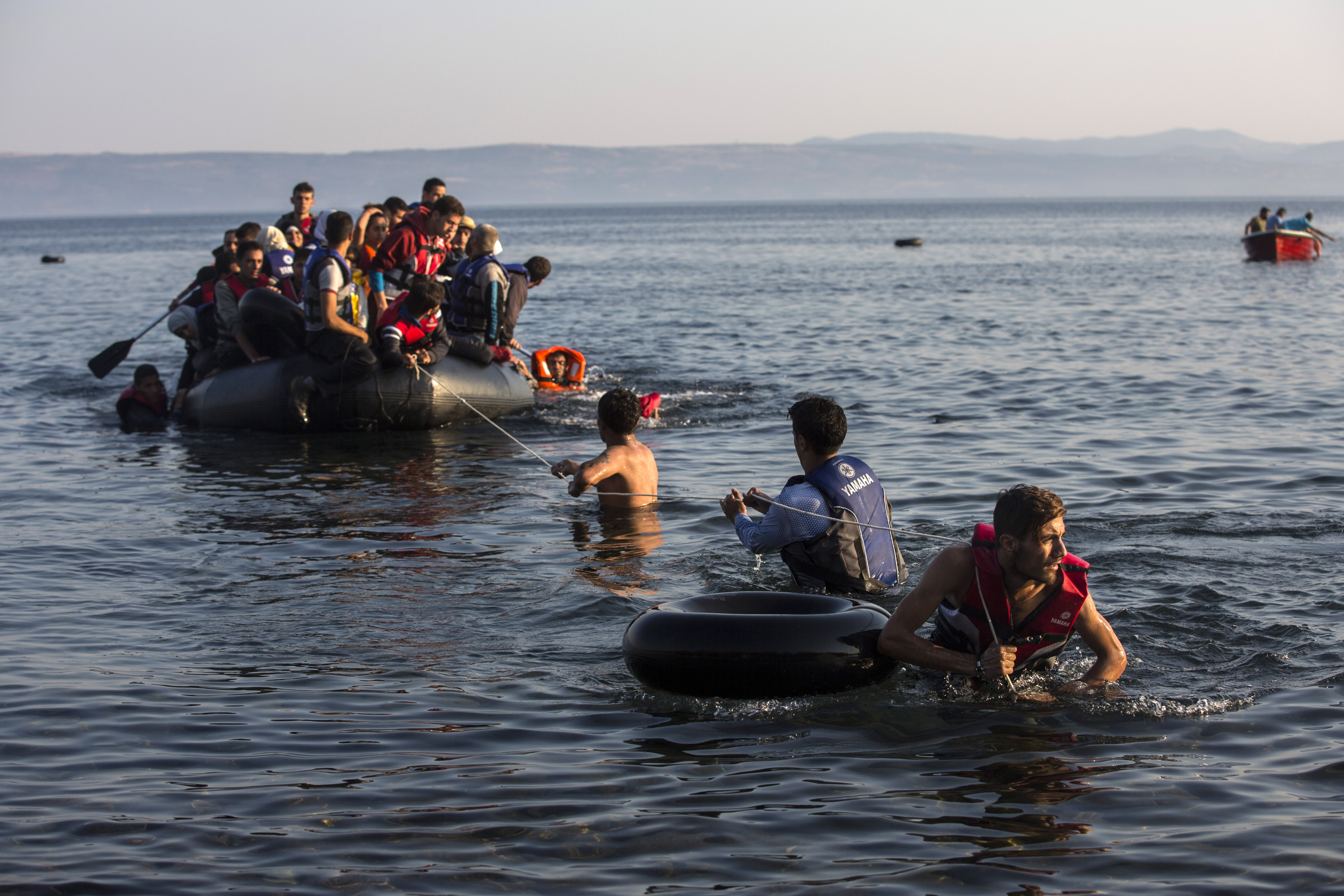 Greek Islands Affected By Refugees