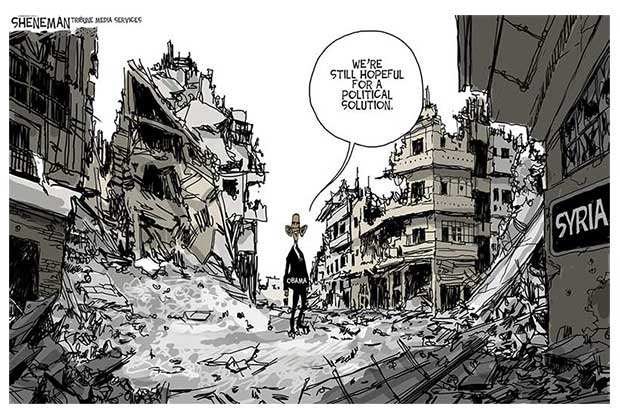 The Feeble U S Response On Syria Is A Moral And Strategic