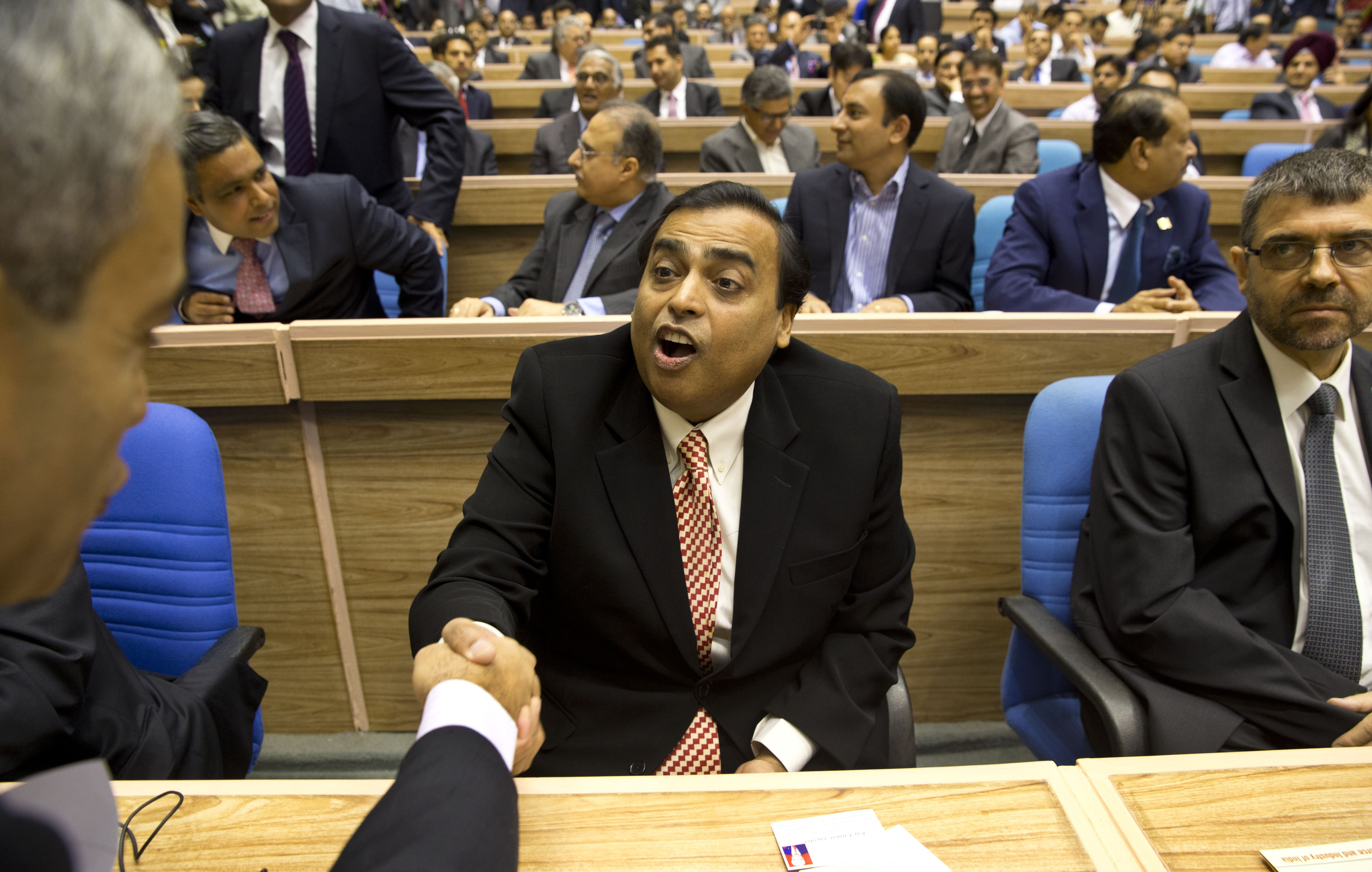 Us News Car Rankings >> Mukesh Ambani, India's Richest Man, Gives a Billion People Free Internet | World | US News