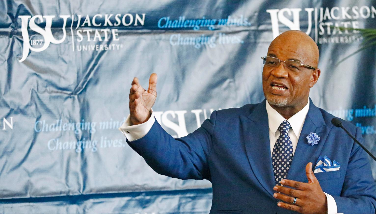 Image result for bynum jackson state president