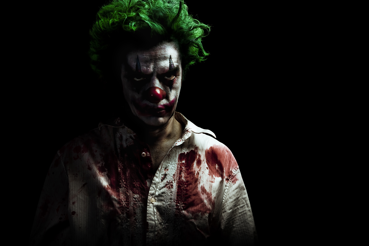 Clowns Are Scaring People Near the Woods, Out in the Open ... Creepy Pictures