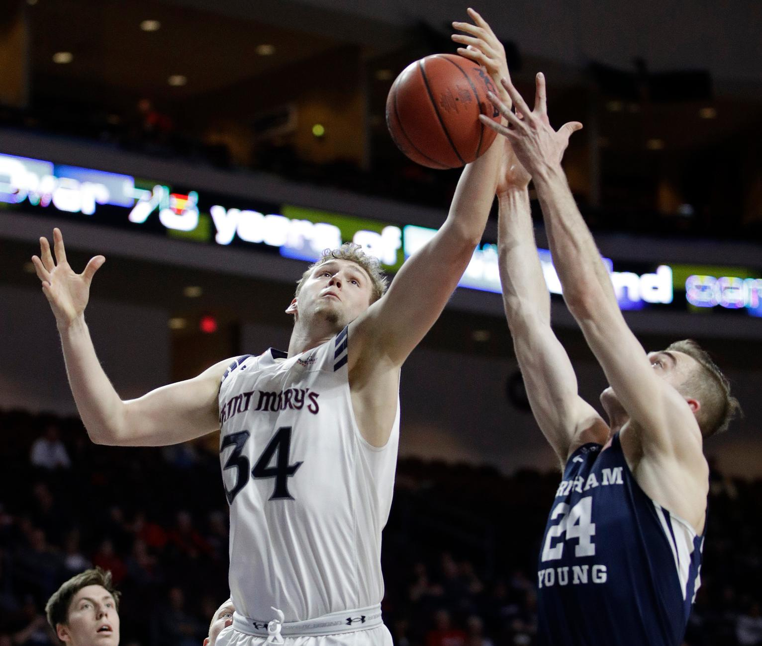 No. 19 Saint Mary's Routs BYU 81-50 to Reach WCC Title ...