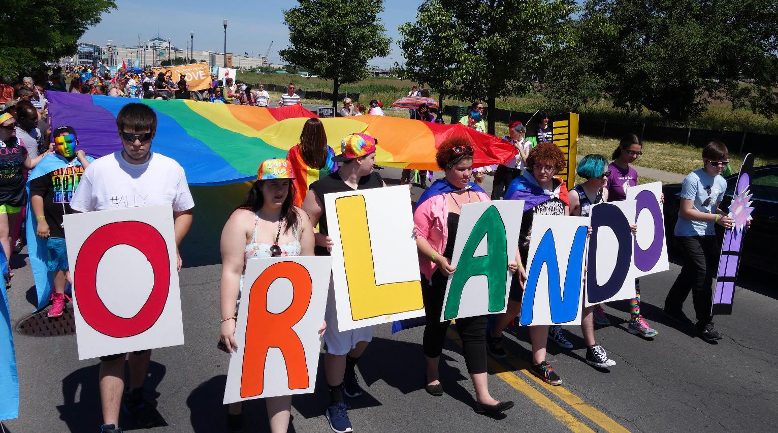 Gay pride events festive but some concerned after Orlando ...
