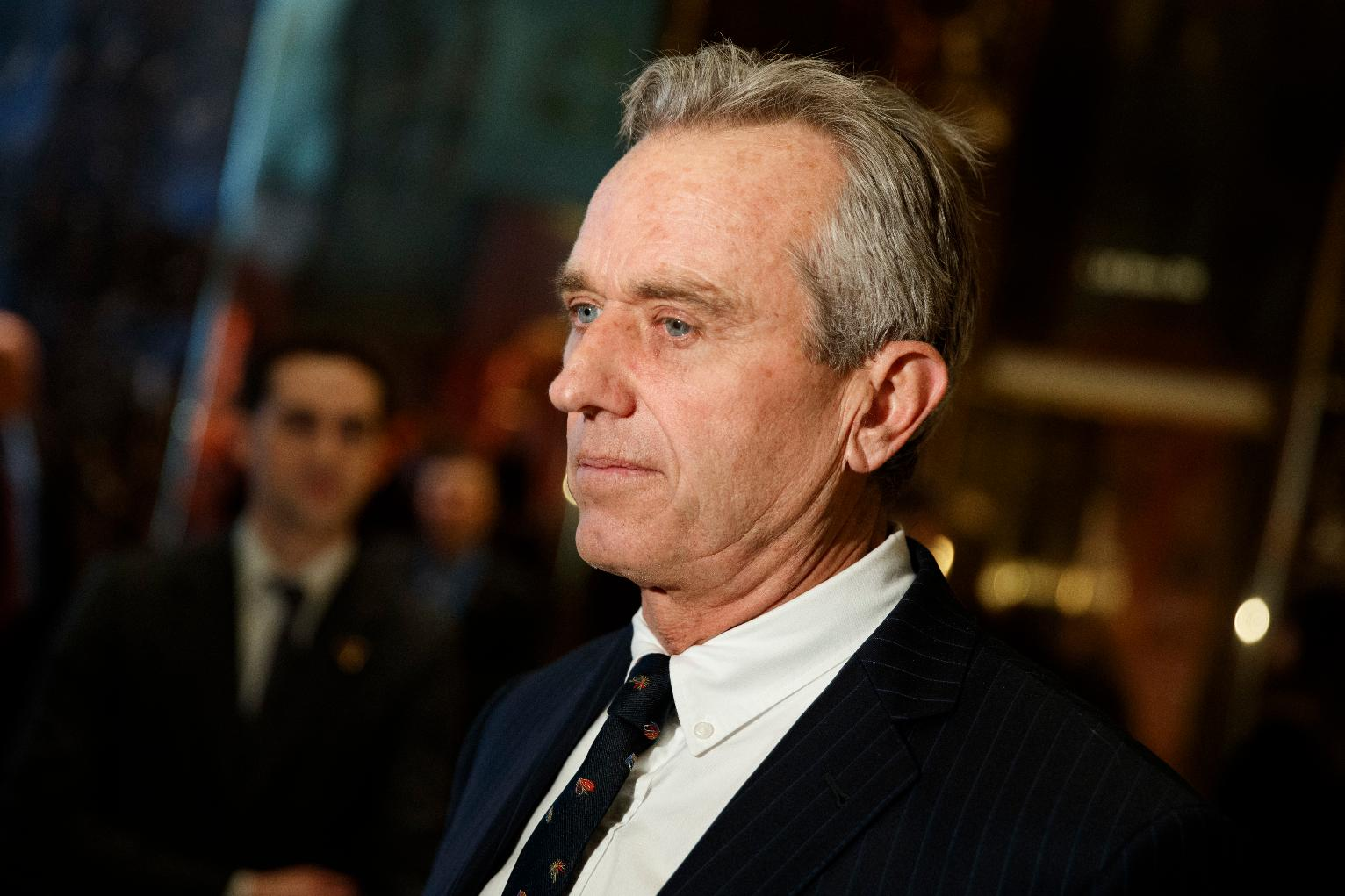 The Latest: RFK Jr. to chair commission on vaccine safety