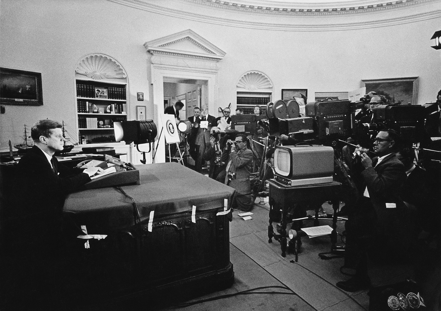 why did kennedy blockade cuba 13 days: president kennedy and the cuban missile crisis  ask: why did missiles in cuba pose a threat to the united states  and cuba, were facing blockade: use .