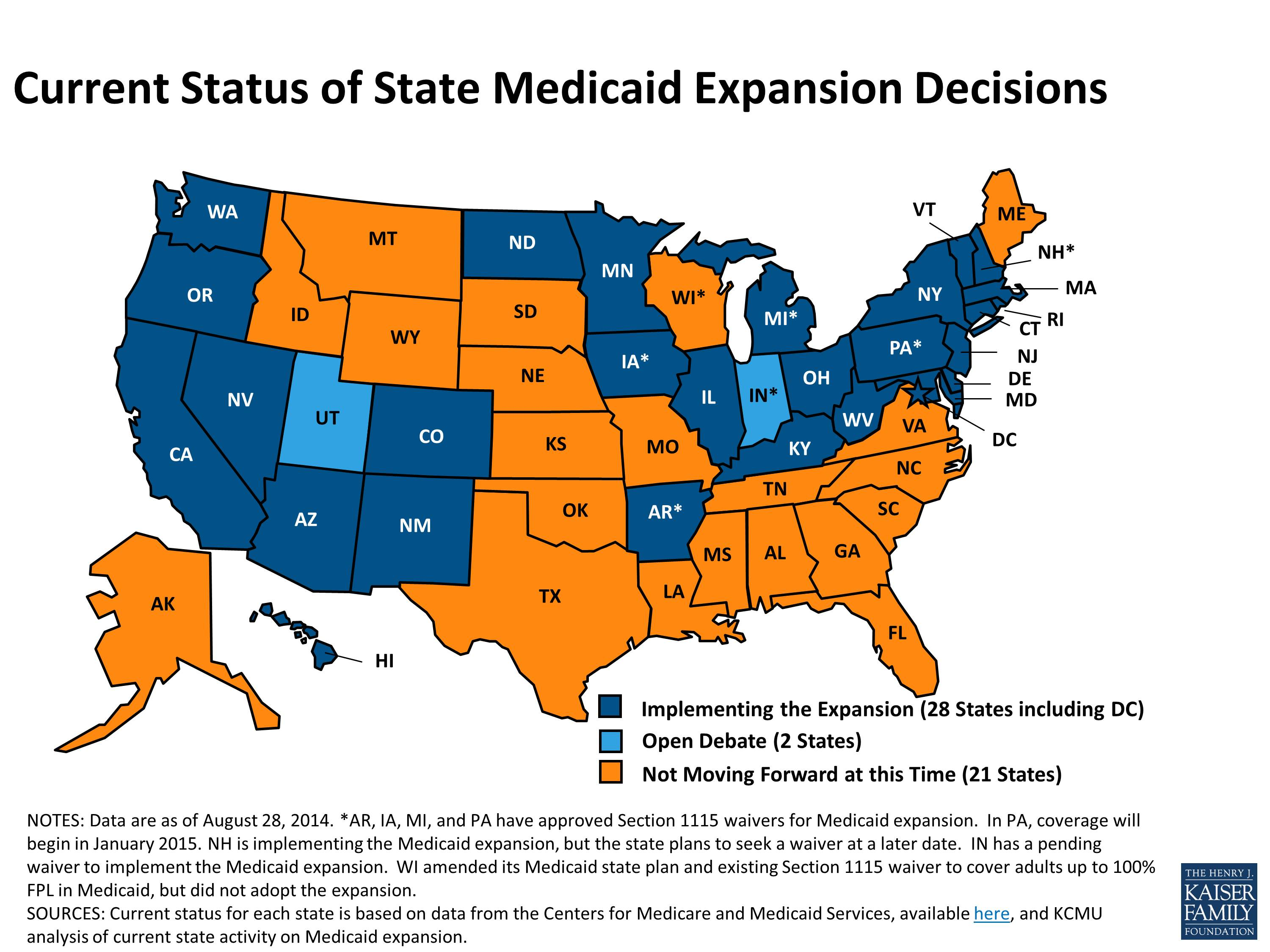 Here's A Map Dark Blue States Will Give You Free Healthcare
