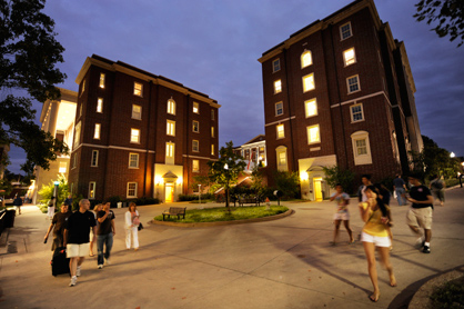 Top 10 colleges for housing education us news for Best college dorms in the us