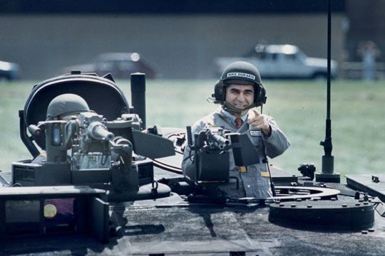 Michael Dukakis The Photo Op That Tanked Us News
