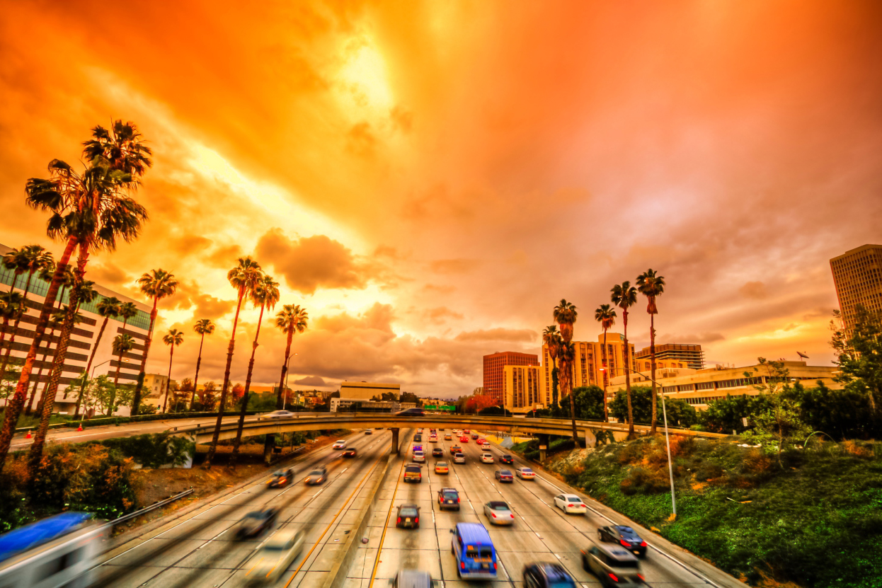 The pictures of Los Angeles