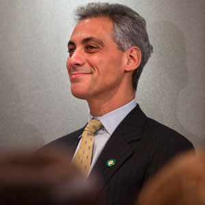 Rahm Emmanuel wants to help bank profits