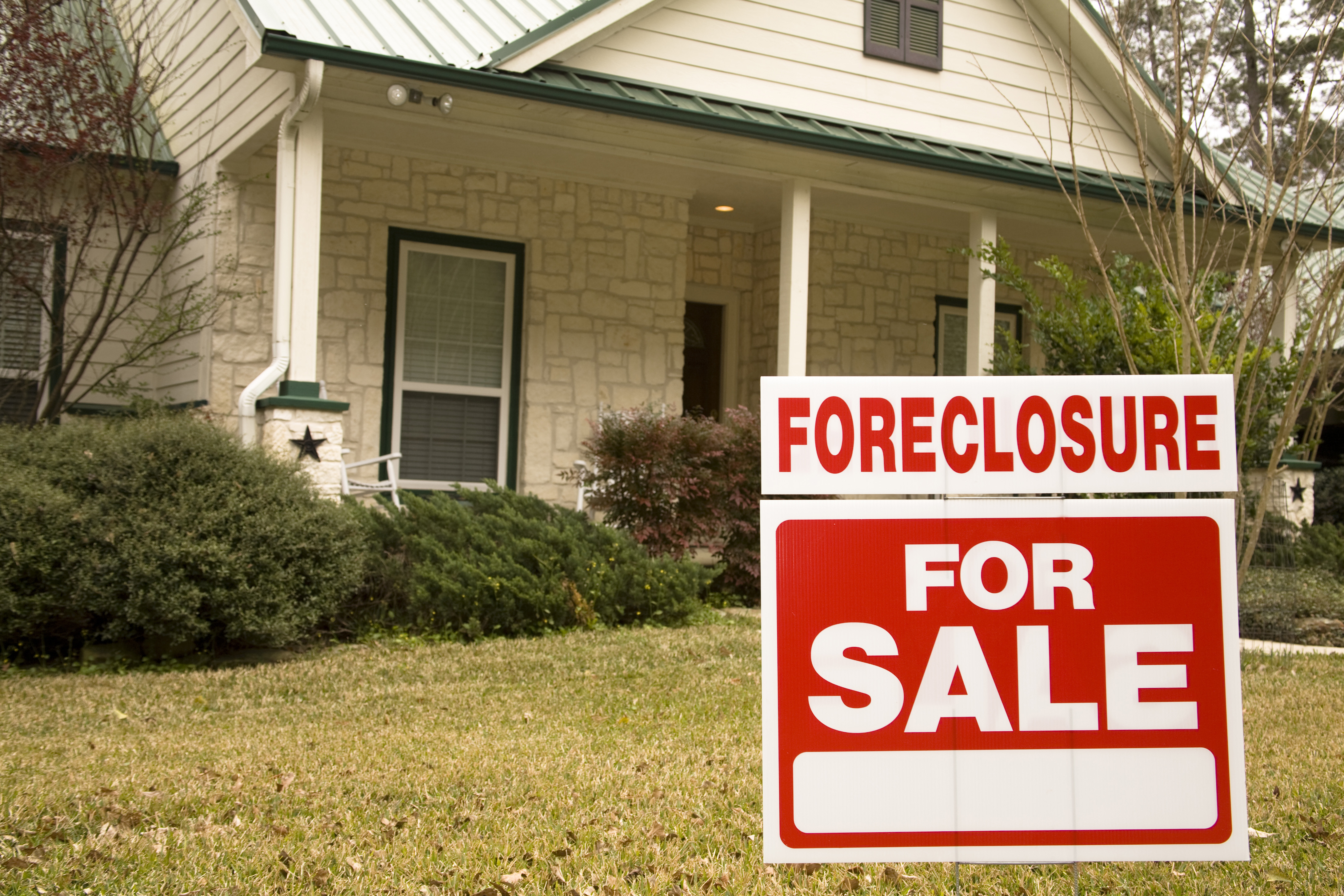 Is foreclosure my best option