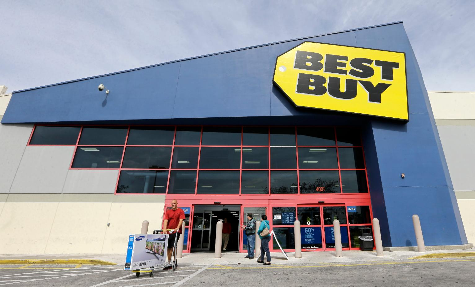 Best buy surprises all over the place in second quarter for Best site to buy