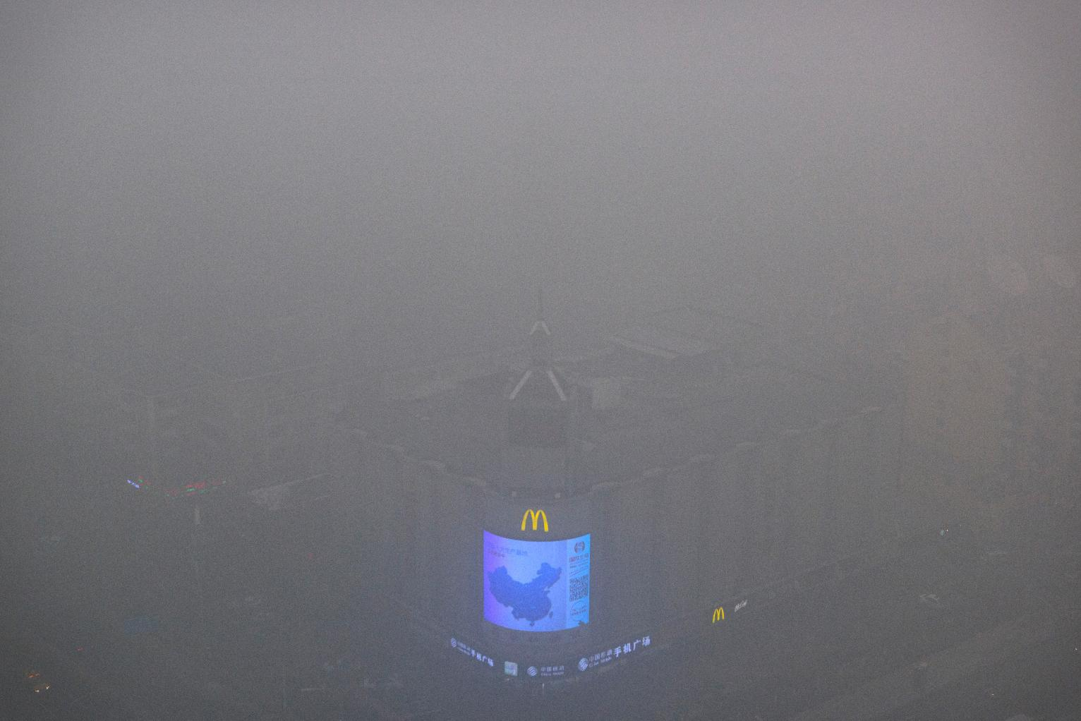 Beijing Air Pollution Reaches Hazardous Levels Health