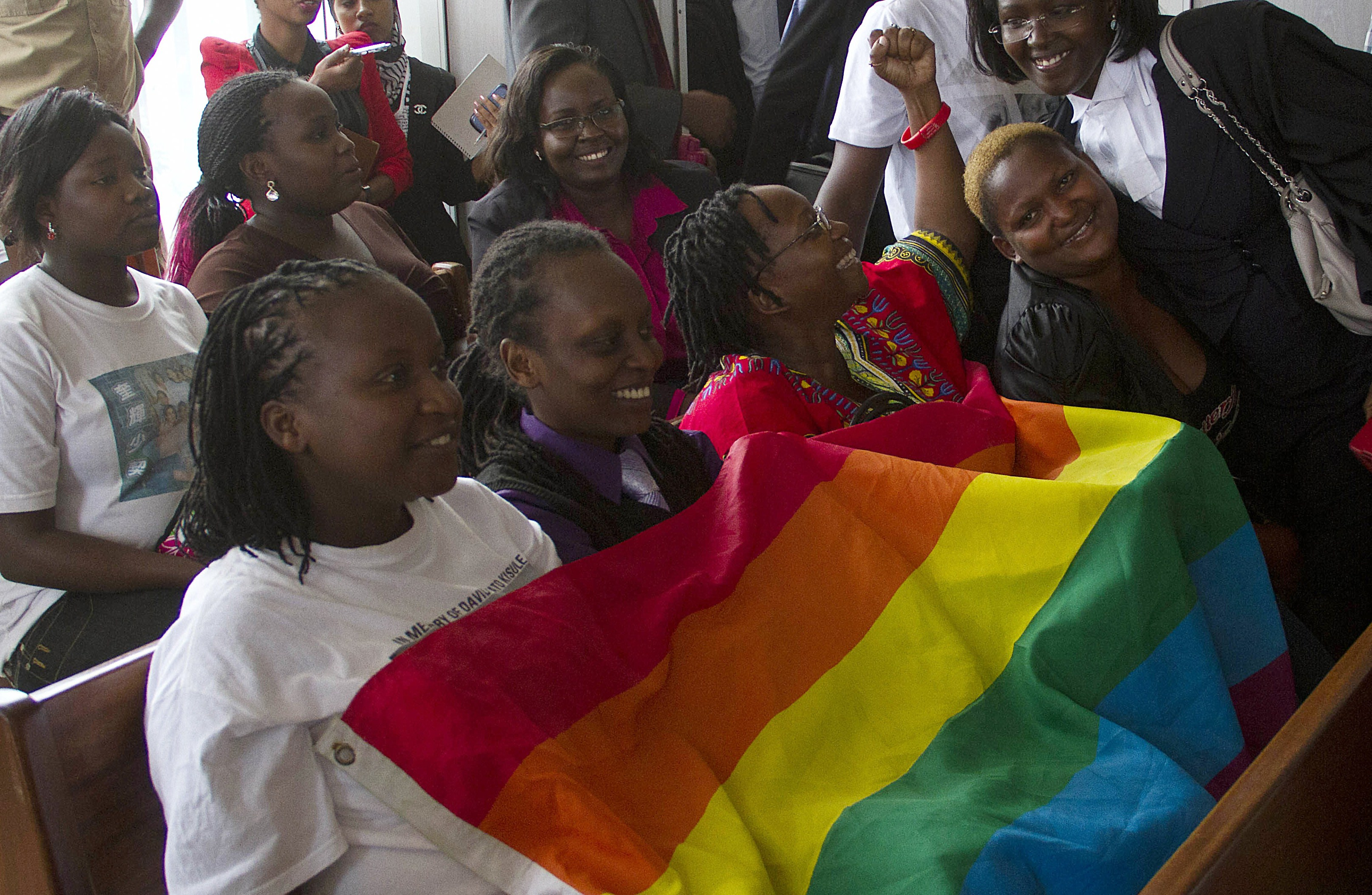 against rights Groups gay