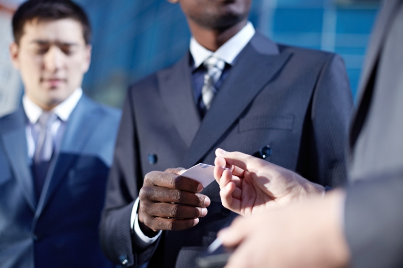 3 Rules Of Business Card Etiquette On Careers Us News