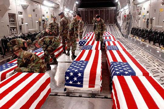 Ban on Photographing Military Coffins Protected Grieving ...