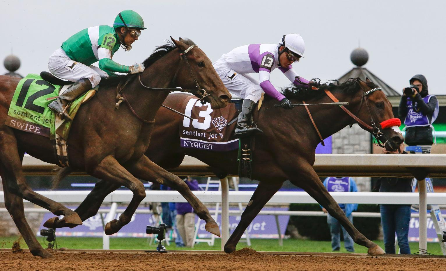 The Latest Found Wins Breeders Cup Turf Us News