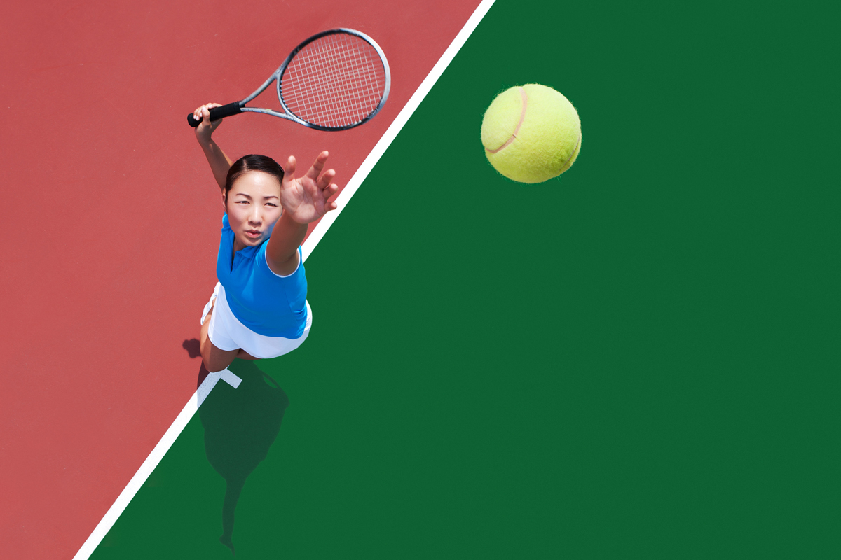 Could Playing Tennis Serve Up A Longer Life Health Buzz
