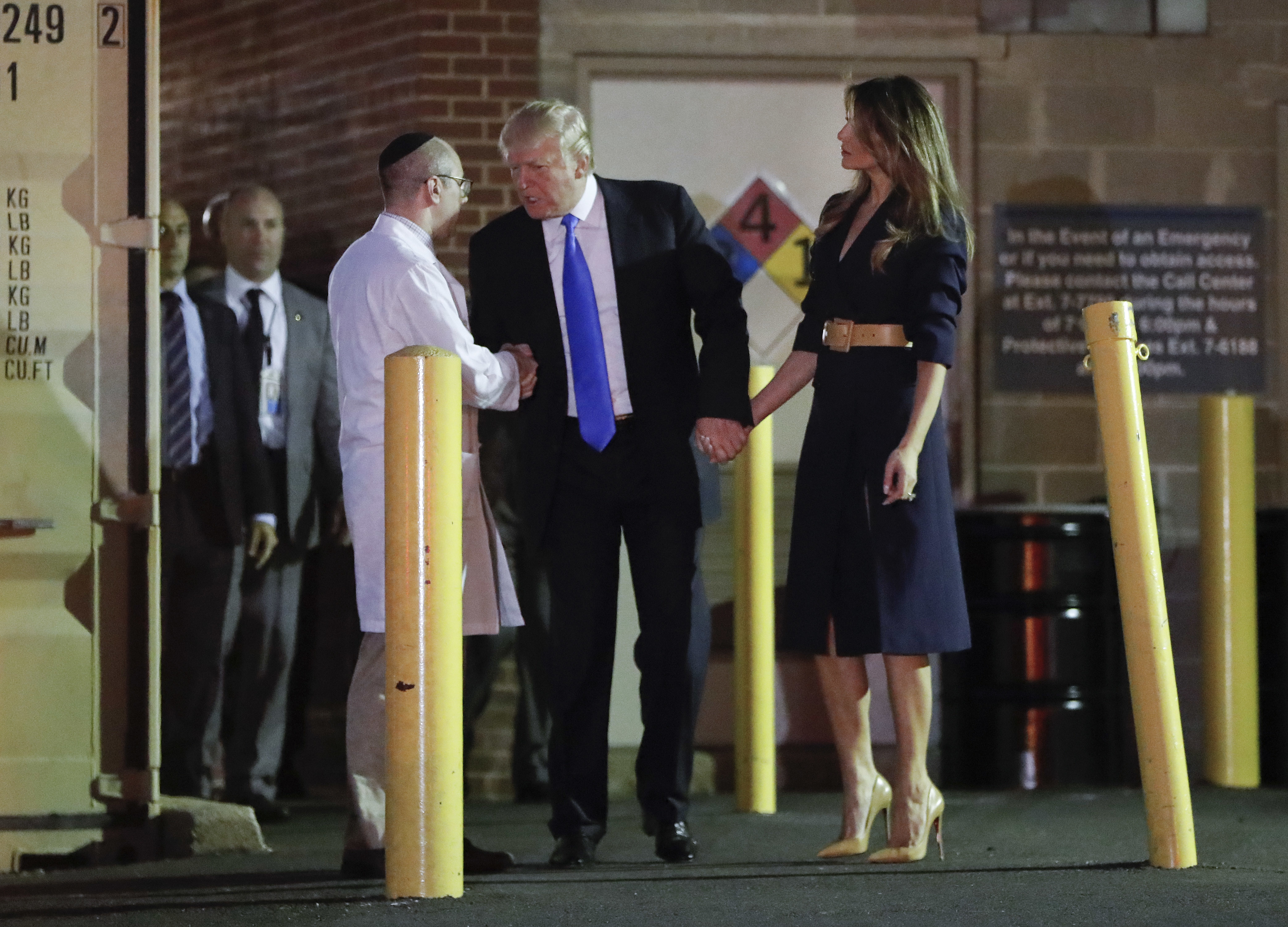 The second amendment issues - Donald Trump Visits Steve Scalise In Hospital Condition Listed As Critical