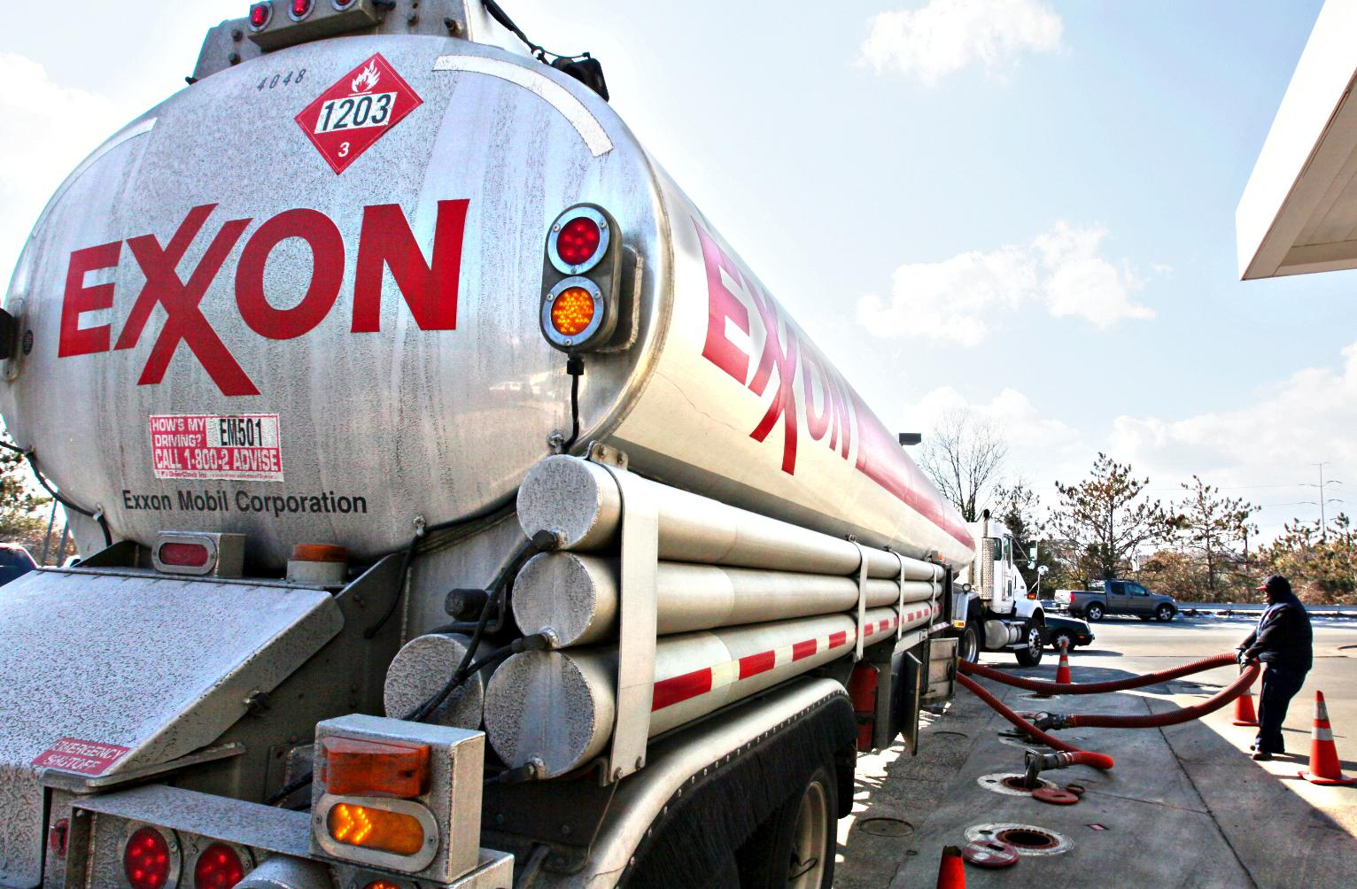 Exxon Mobil Corporation (XOM) Stock Slides on Cratering Revenue, Earnings