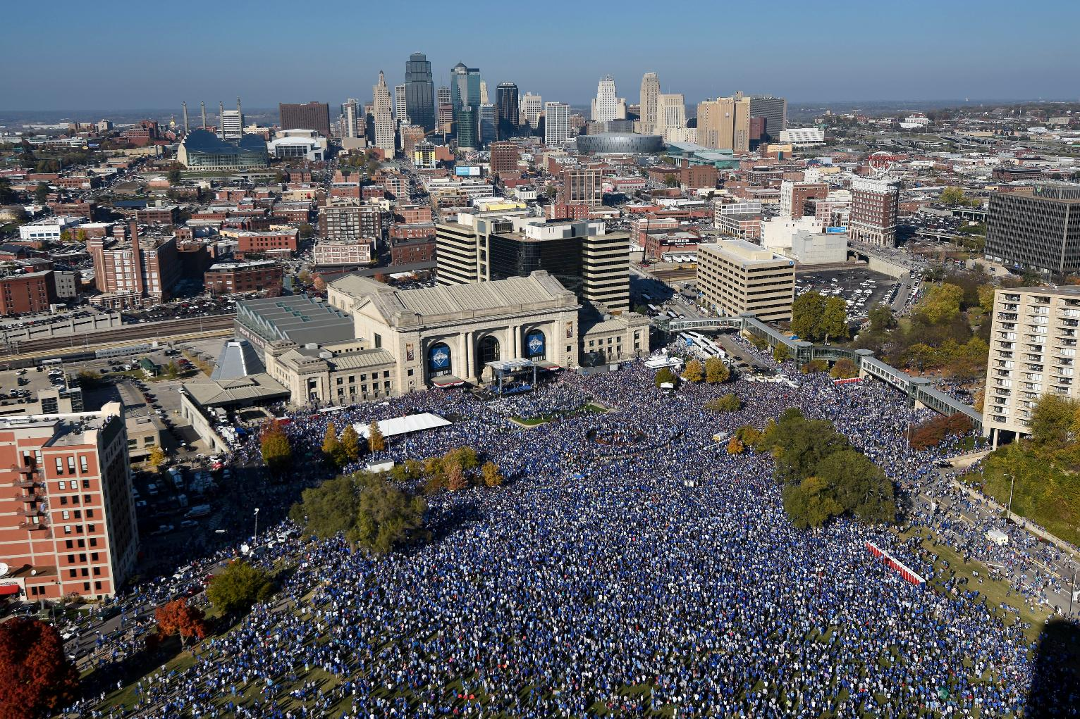 Kansas City Throws A Party To Celebrate Royals