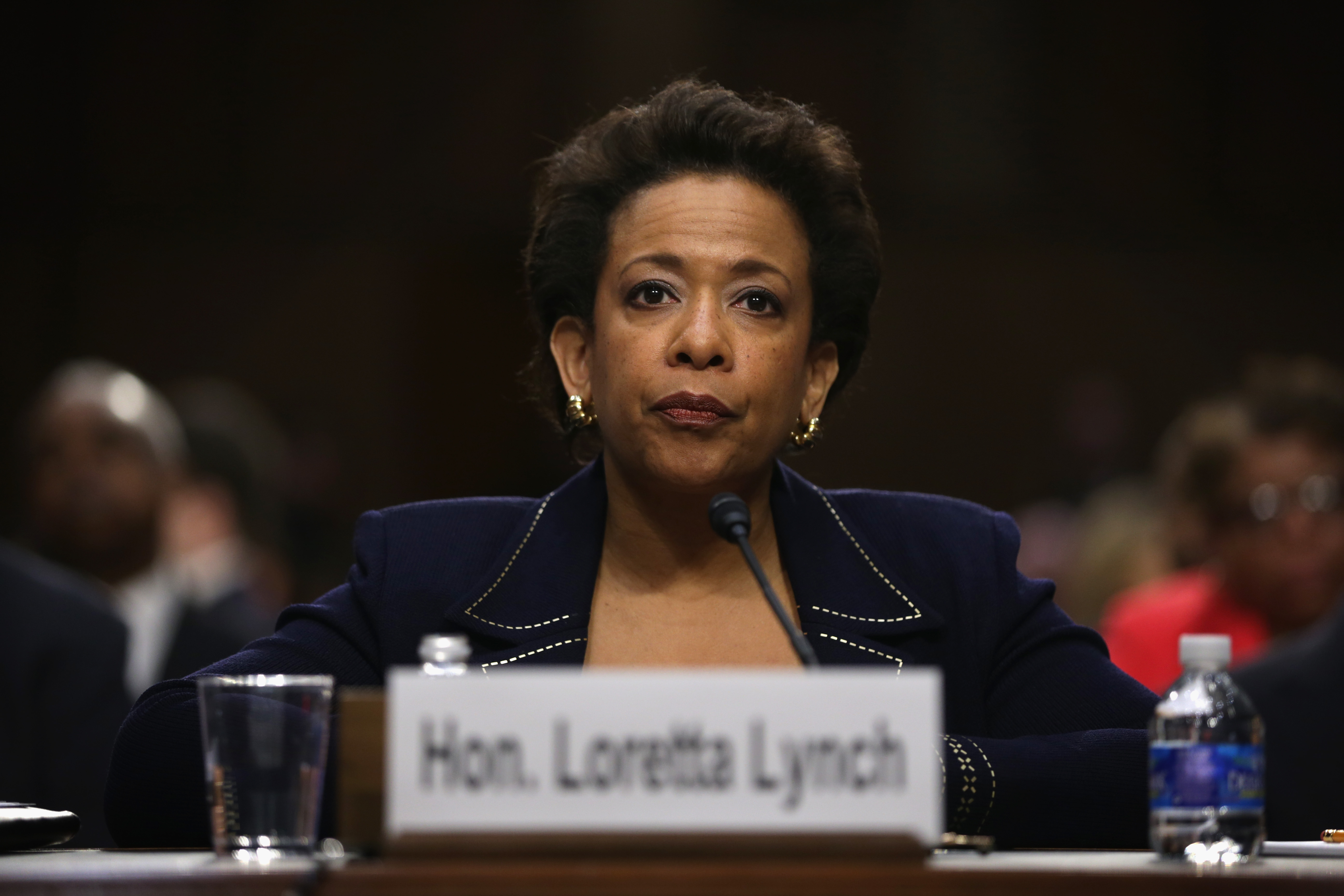 loretta lynch embraces eric holder s legacy on civil rights us news