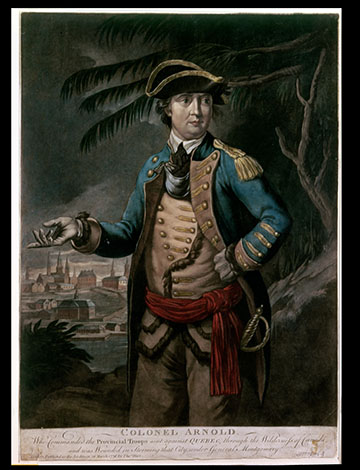 benedict arnold marked as a traitor essay History tends to judge our past leaders as extremes: abraham lincoln was an american hero benedict arnold was a traitor as teachers, it's tempting at times to.