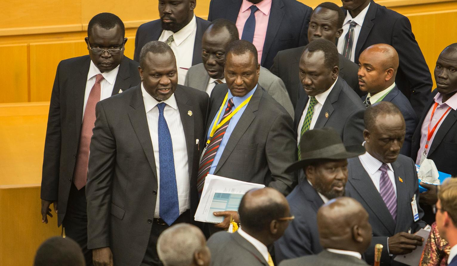 South Sudan leader signs peace deal amid sanctions threat ...