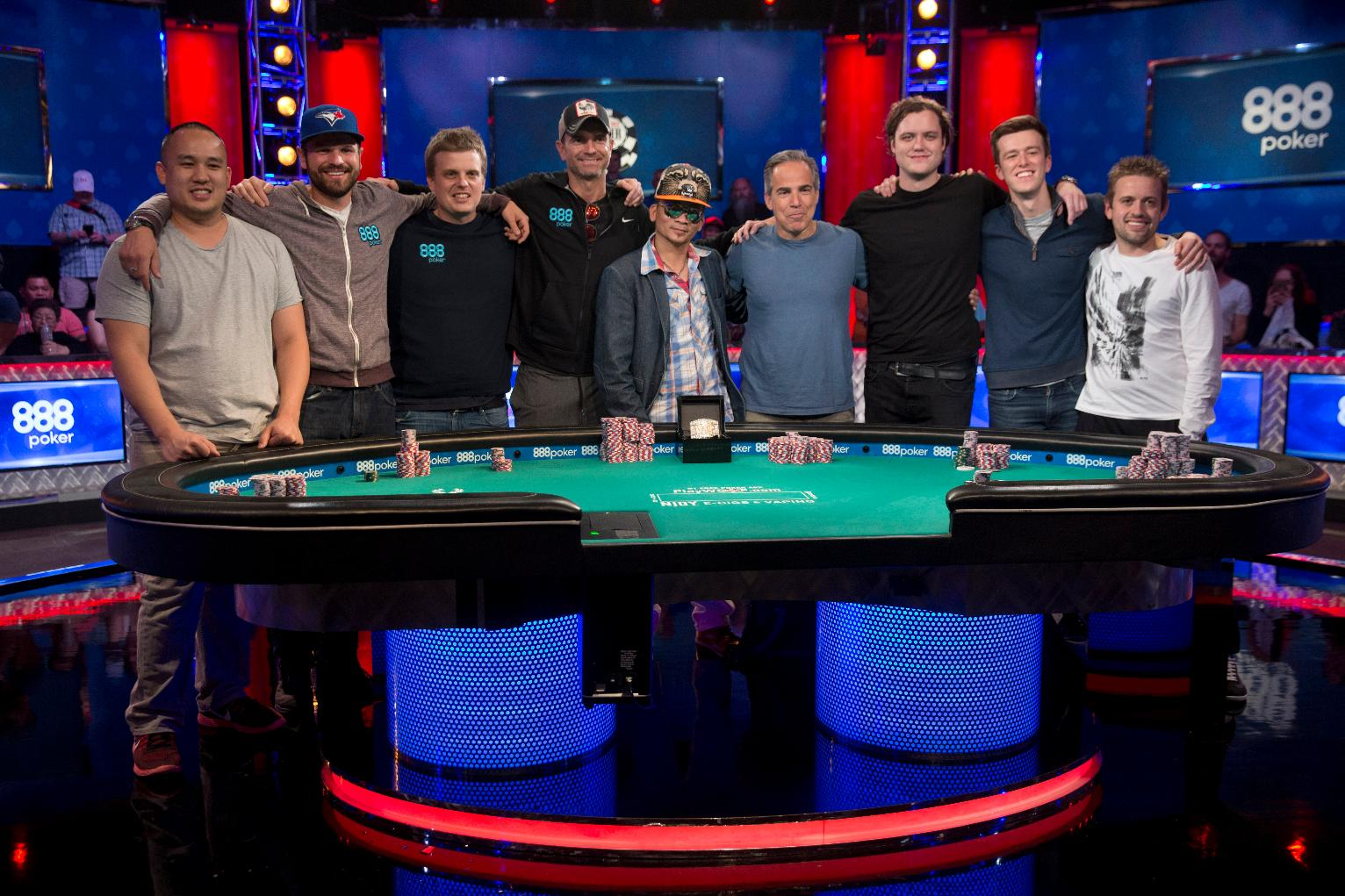 Final table set for world series of poker event in las vegas sports news us news - Final table world series of poker ...