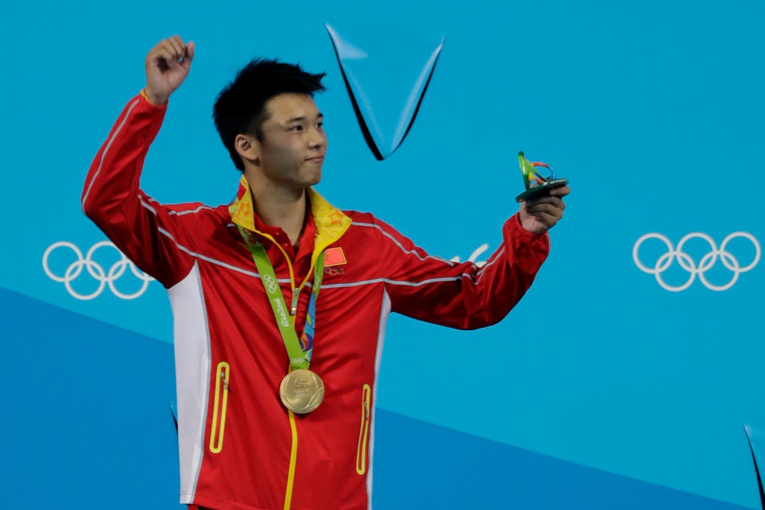 Chen Wins Men S 10 Meter For China S 7th Diving Gold