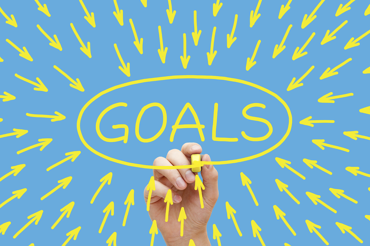 following through with setting goals By following the five golden rules of goal setting you can set goals with confidence and enjoy the satisfaction that comes along with knowing you achieved what you.
