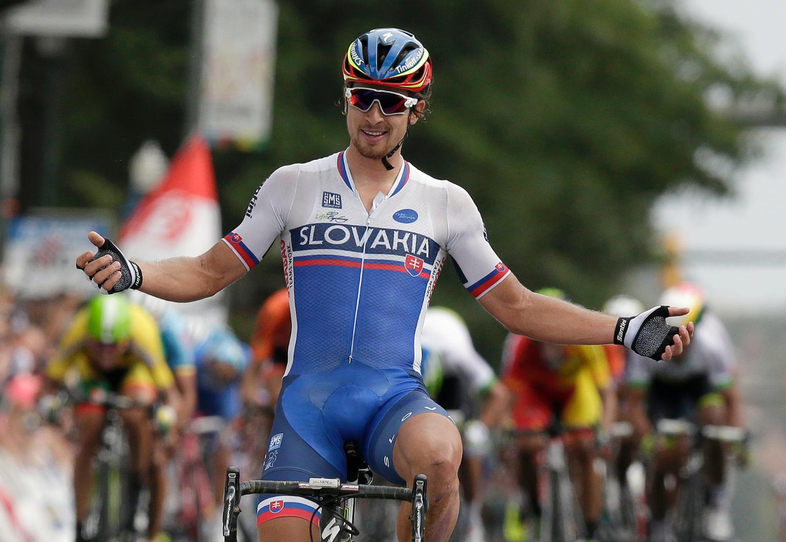 Peter Sagan powers to gold to cap road world championships | Sports ...