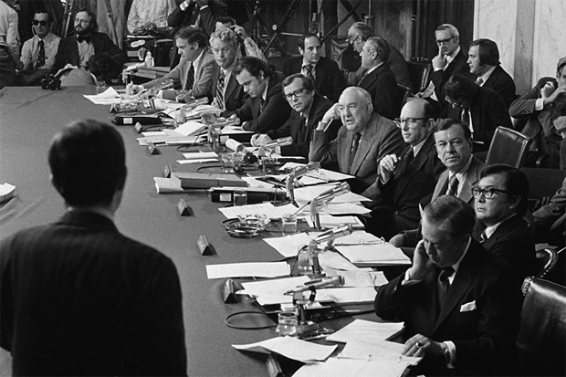 the ripples in society of the watergate scandal The watergate scandal (1972-1974) (or just watergate) was anamerican political scandal and constitutional crisis that led tothe resignation of.