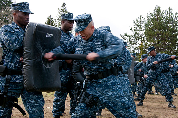 Navy Secretary Criticizes Blueberry Camouflage Uniforms