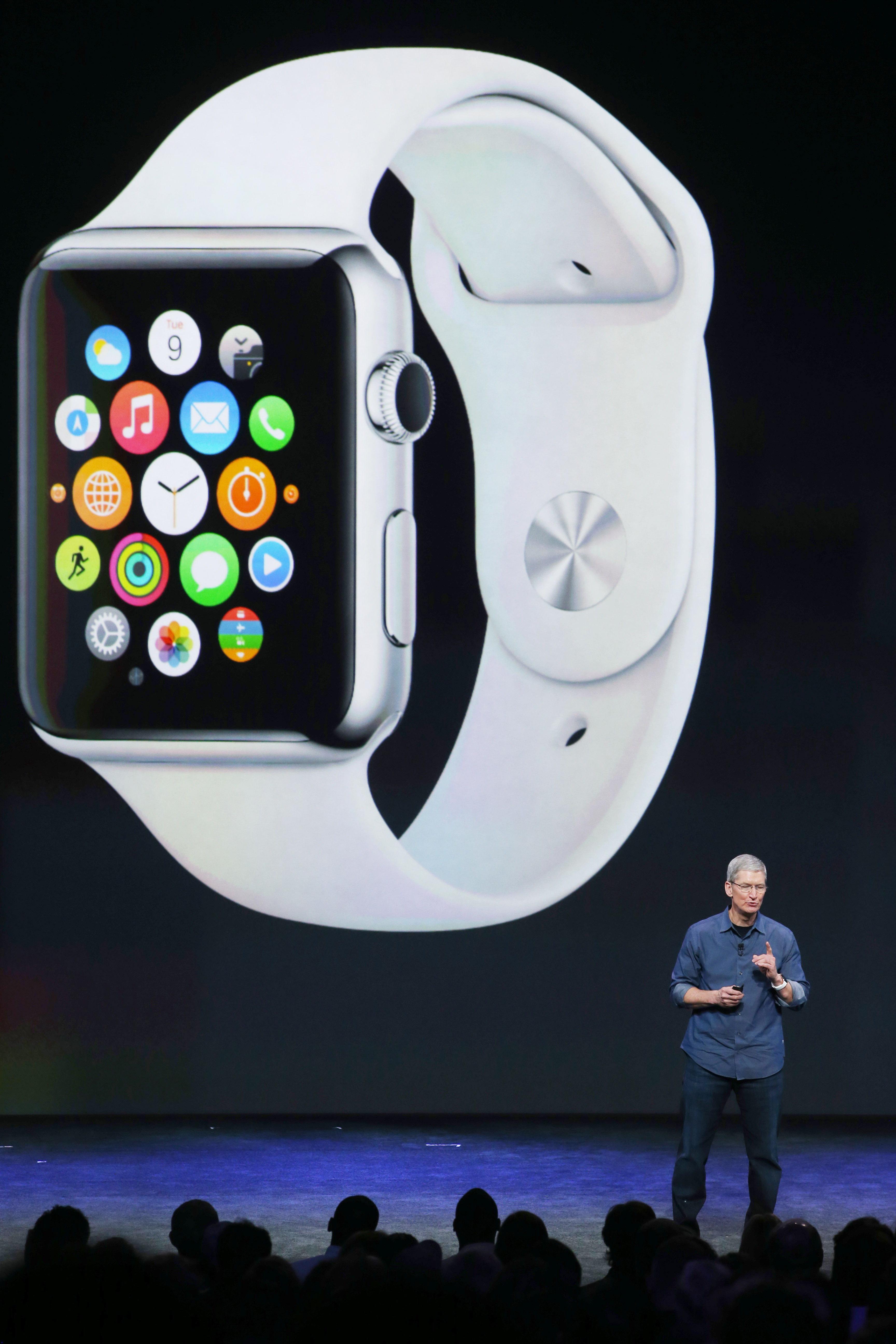 apple watch how to change interface to charging interface