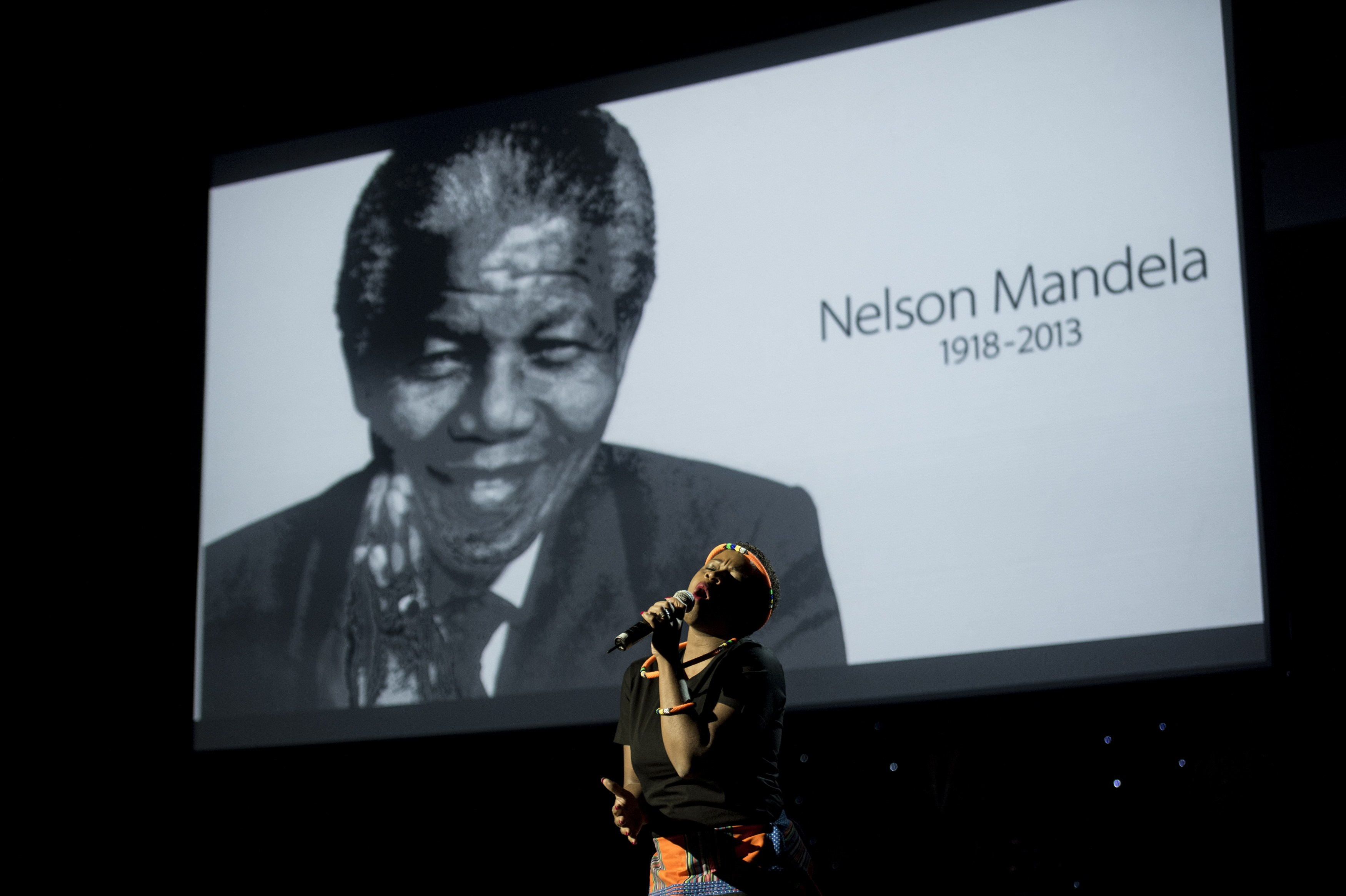 Civil Rights Leader Nelson Mandela Remembered A Year After