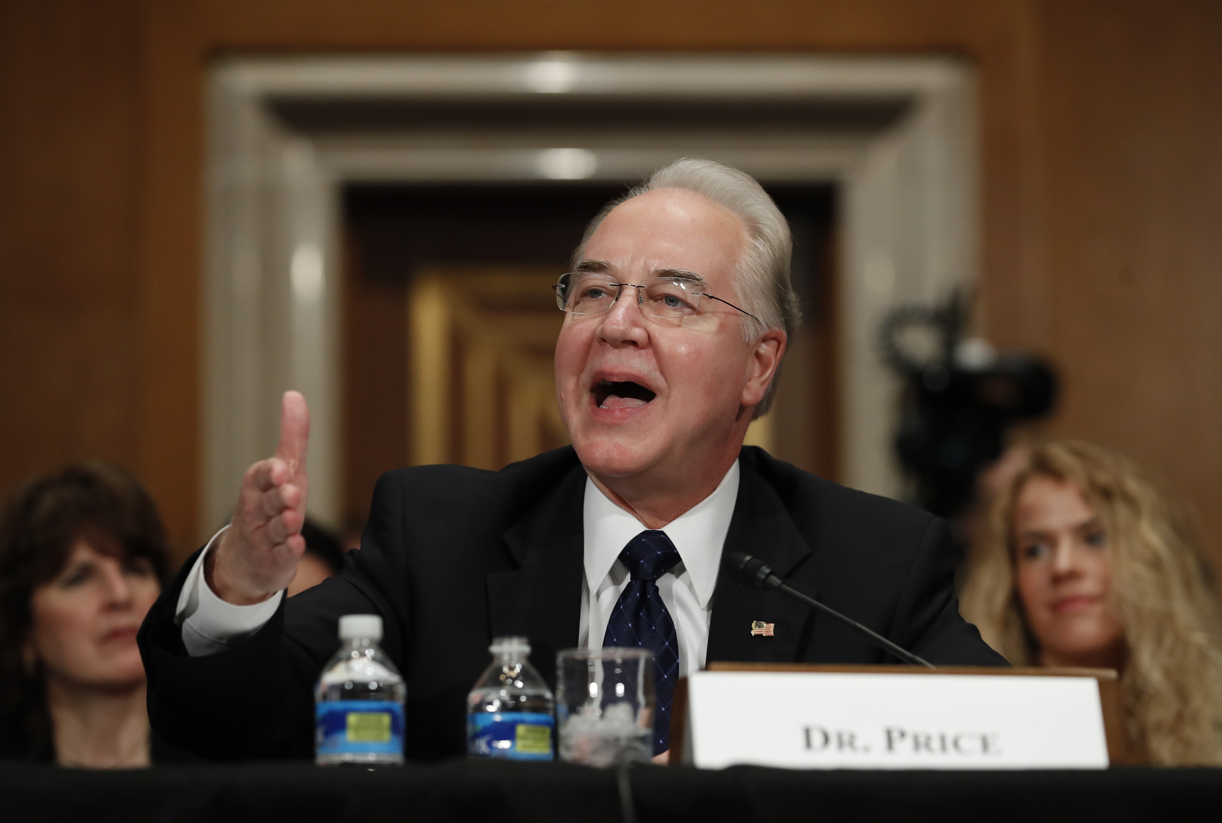 Donald Trump Gives His HHS Nominee Tom Price an Obamacare Makeover