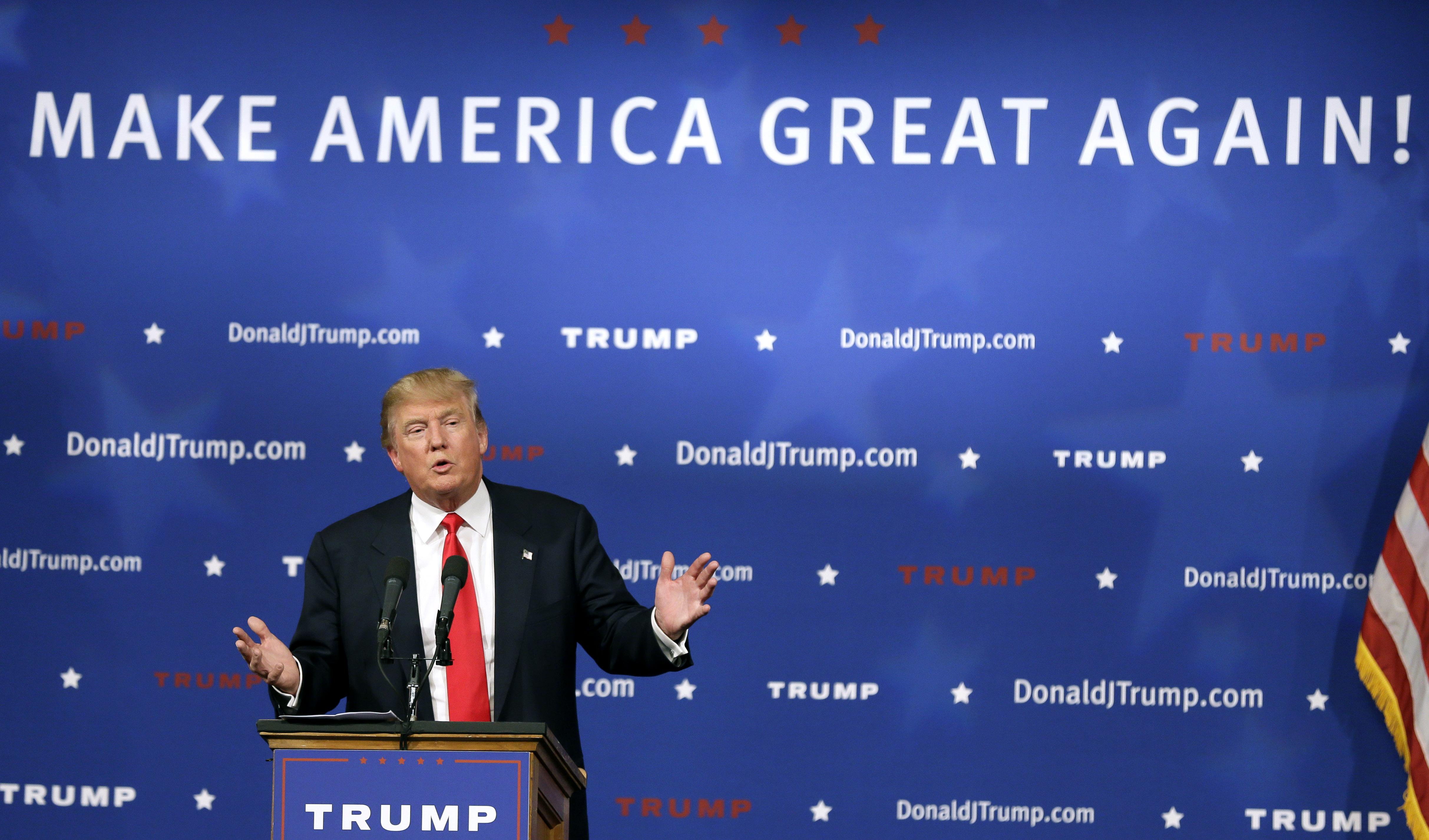 Don 39 t dismiss donald trump 39 s ability to shape the 2016 for Make america great again wallpaper