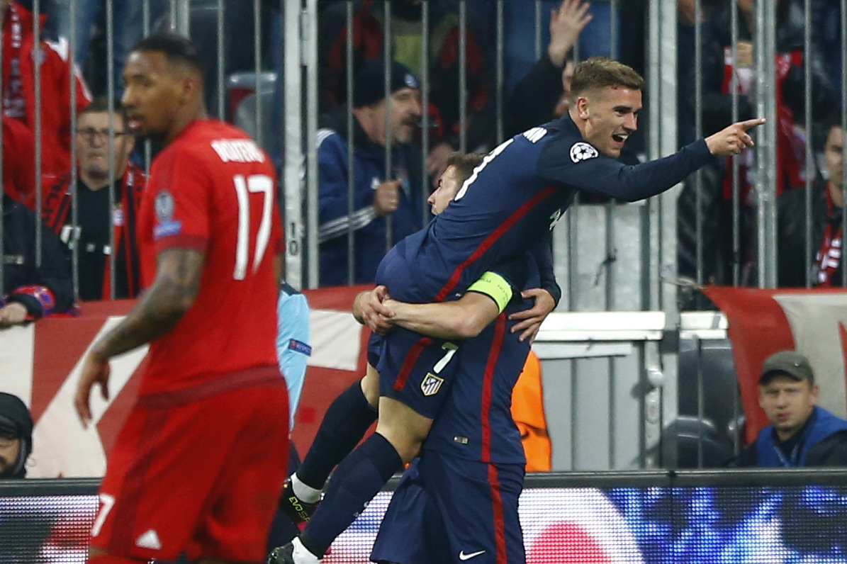 Atletico madrid reaches champions league final on away goals sports