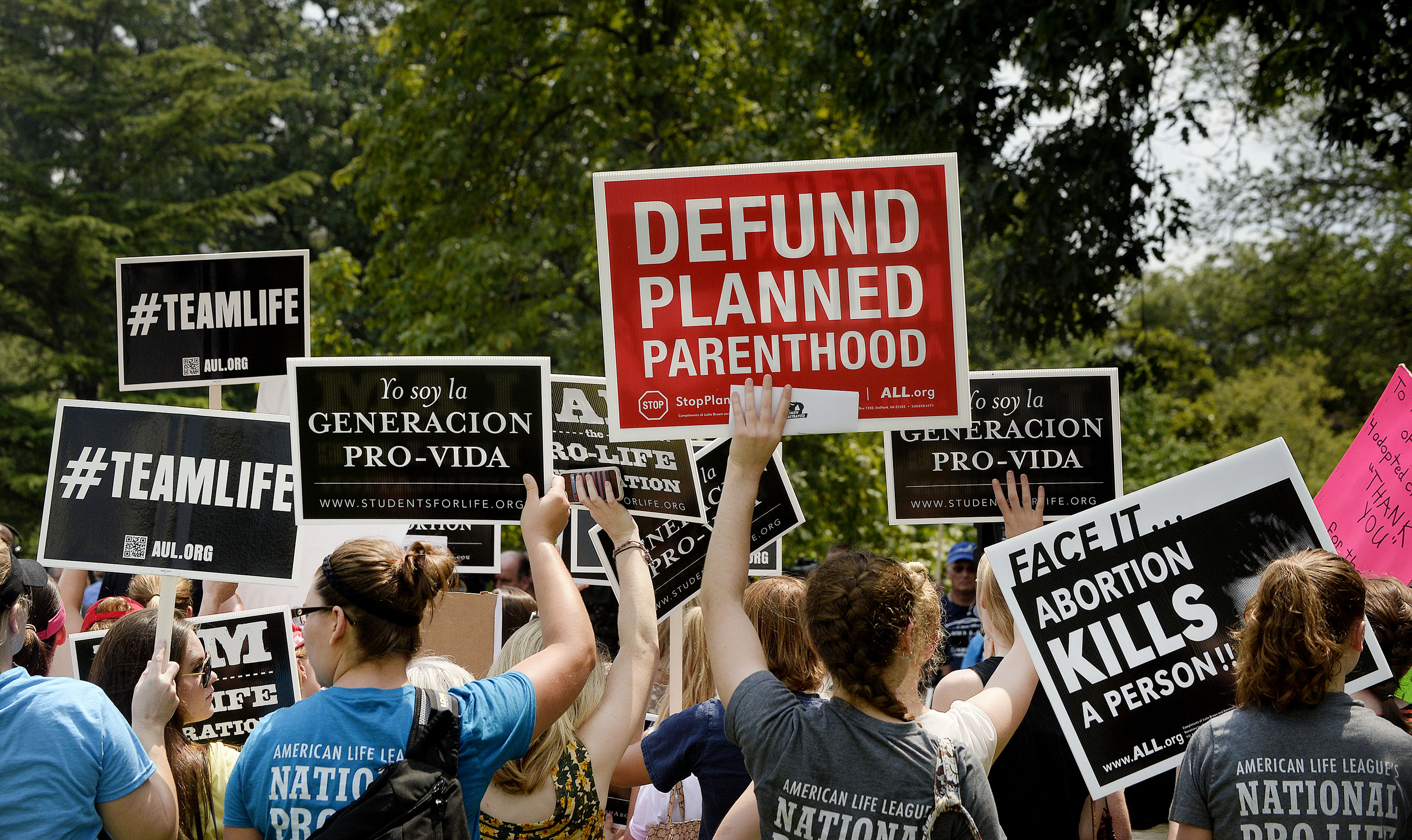 Defund Planned Parenthood Nationwide Rally