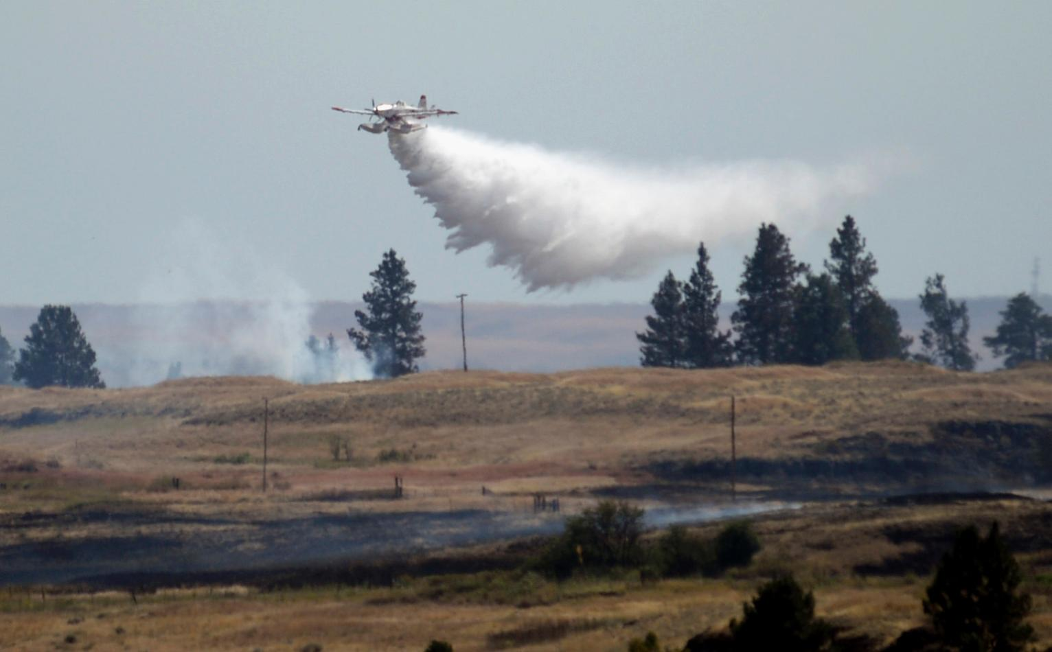 Better Weather Aiding Washington Wildfire Fight U S