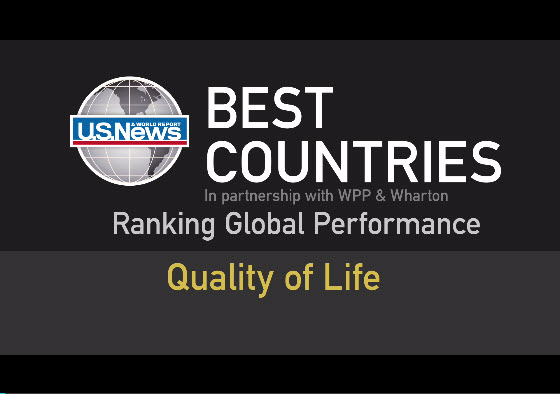 Quality of Life EBook Video 4  Best Countries  US News