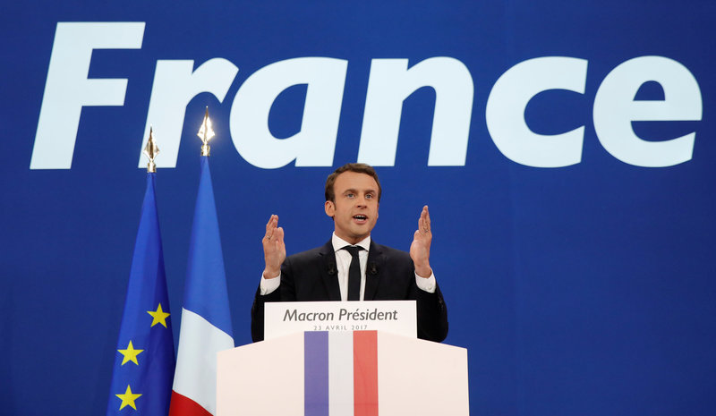 news articles gloves french election aide calls macron arrogant