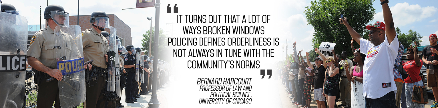 """The Problem with """"Broken Windows"""" Policing"""