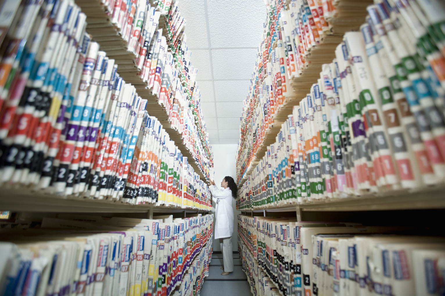 paper medical records According to federal law, you have the right to get copies of most of your medical records, whether they are paper copies or electronic health records.