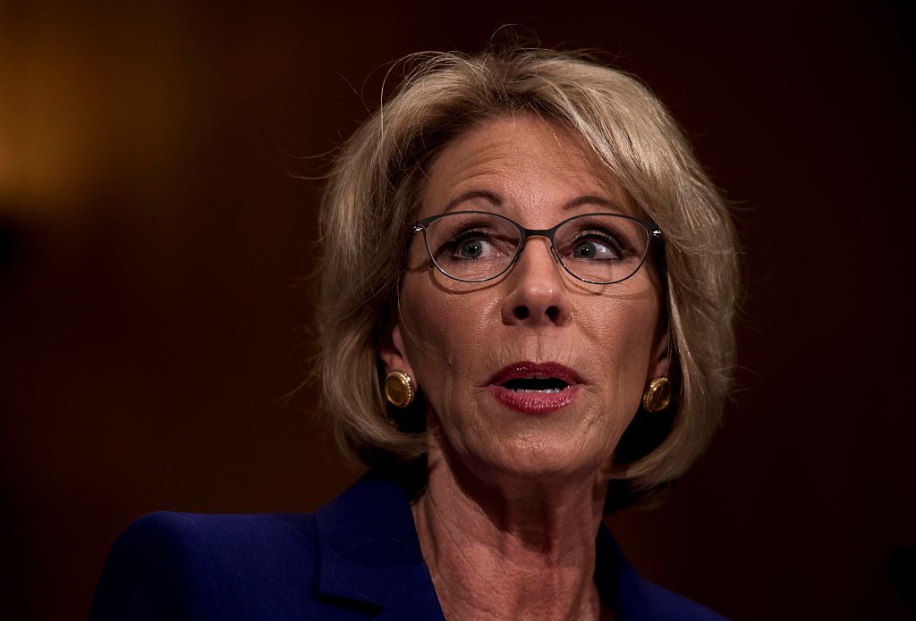 A Danger To Students With Disabilities >> Pax On Both Houses Betsy Devos Trump S Education Secretary Is A