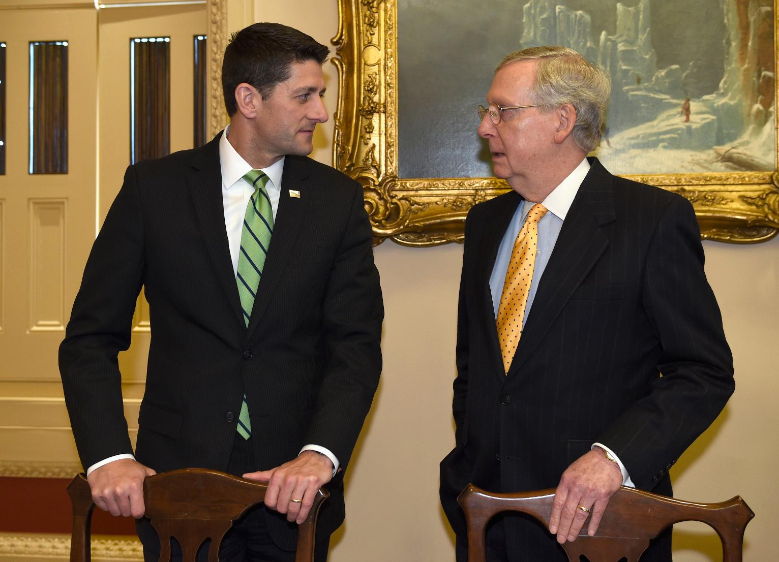 Image result for Sen mcconnell at inauguration