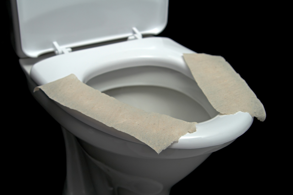 Do You Really Need To Cover The Toilet Seat With Paper