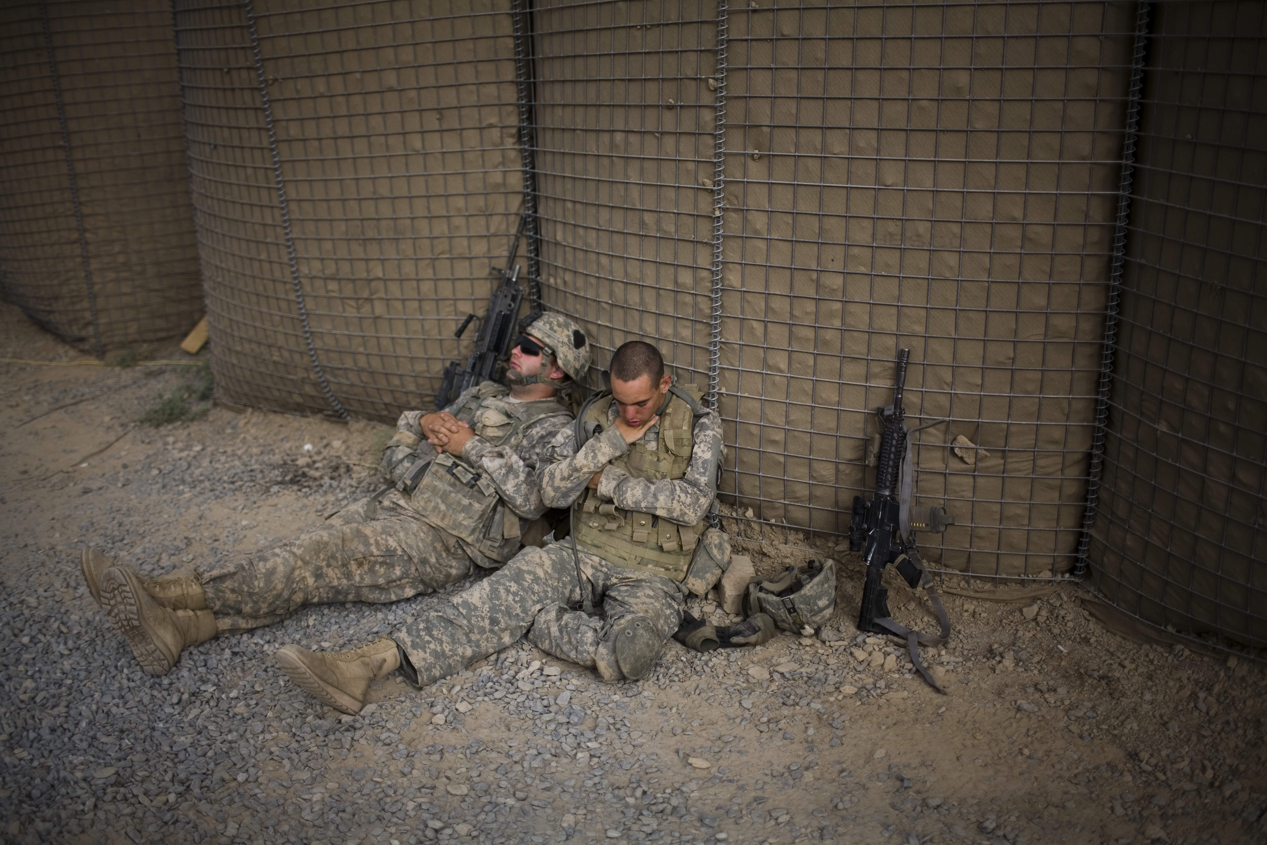U S Soldiers Denied Sleep Suffer Major Health Effects